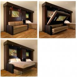 Murphy beds: Guest Room, Tiny House, Sofa Murphy, Guest Bedrooms, Murphy Beds, Guest House