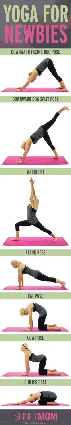 New to yoga? No worries, we have all of the beginner poses just for you!: Yoga Exercise, Yoga Stretch, Yoga Newbie, Yoga Poses, Yoga Sequence, Beginner Yoga Pose, Yoga Beginner, Beginner Pose, Yoga Workout
