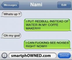 Redbull: Funny Texts, Funny Pics, Coffee, Funny Stuff, Funnies, Humor, Red Bull, Redbull