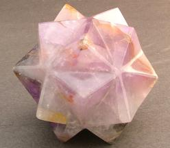 Rose Quartz: Rose quartz is one of the most desirable varieties of quartz. The pink to rose red color is completely unique, unlike any other pink mineral species. The color is caused by iron and titanium impurities. Rose quartz is known as the love stone.
