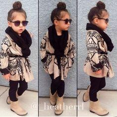 So cute. But if the girls were wearing this they would have tights or leggings on lol. I don't like short skirts on them.: Fashion Kids, Little Girls, Kids Style, Kids Fashion, Girls Outfits, Girls Fashion, Kidsfashion