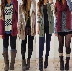 Street Chic winter outfit . Get the look with sexy quality thick leggings off amazon. ONLY $12.99 & great reviews! click on pic: Style, Clothes, Dream Closet, Winter Outfits, Fall Outfit, Fall Fashion, Winter Fashion, Wear, Fall Winter