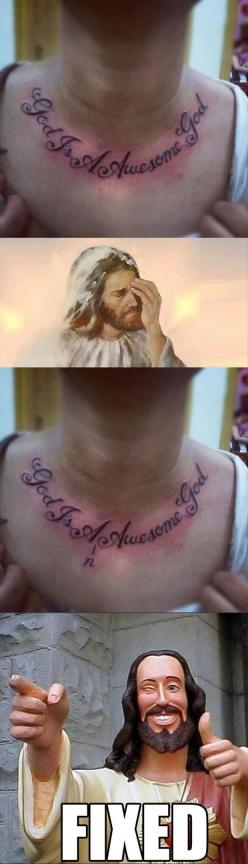 That's just bad.: Tattoo Fail, Funny Pictures, Funny Stuff, Tattoo'S, A Tattoo, Humor, Funnies