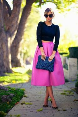 The Guide to DC, DC fashion, fashion blogs, style blogs, restaurants in DC. | Page 3 | Best Fashion Bloggers: Midi Skirts, Full Skirts, Fashion, Crop Tops, Dress, Street Style, Outfit, Croptop