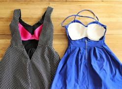 The Most Ingenious DIY For The Backless Dress Dilemma. Backless dresses for big boobies!!: Idea, Craft, Style, Lifehack, Backless Dresses, Discount Bra, Diy Clothes, Life Hacks