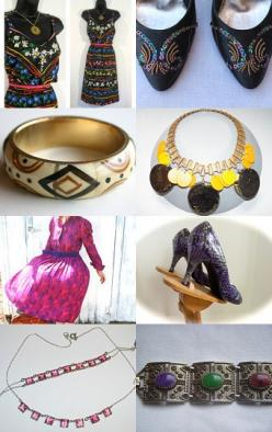 Thursday's Daily Vintage Fashion Picks for TeamLove: Glam Vintage, Daily Vintage, Fashion Picks, Vintage Fashion, Thursday S Daily