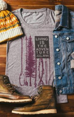 """Living Is The Adventure"":"