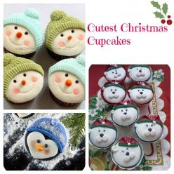 Adorable Christmas Cupcakes via Baking Beauty: Cupcakes Adorable, Christmas Cupcakes These, Adorable Christmas, Cupcakeideas Cupcakerecipes, 9 Recipes Cupcakes, Christmas Treats, Baking Beauty, Christmas Cake, Cupcakerecipes Food