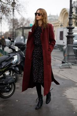 Alana Zimmer: Area Zimmer, Fashion, Street Style, Outfit, Street Styles, Long Coats, Fall Winter, Red Coats
