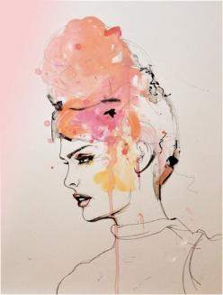 amazing: Watercolor Art, Inspiration, Art Prints, Illustration Art, Fashion Illustrations