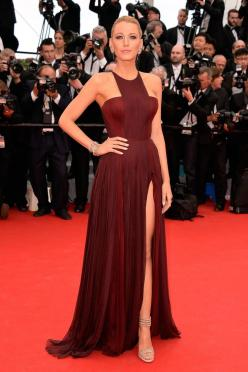 Cannes Fashion - Red Carpet Dresses at Cannes 2014 - Harper's BAZAAR Blake Lively in Gucci Première: Fashion, Style, Redcarpet, Blake Lively, Cannes Film Festival, Cannes 2014, Red Carpet, Dresses, Blakelively