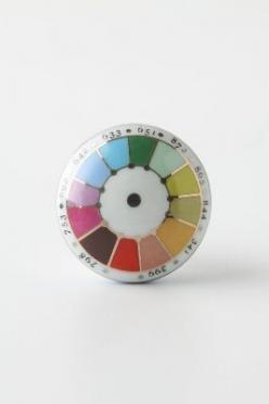 Color Swatch Knob, Rainbow: Colors, Swatch Knob, Rainbow, Knobs, Color Swatches