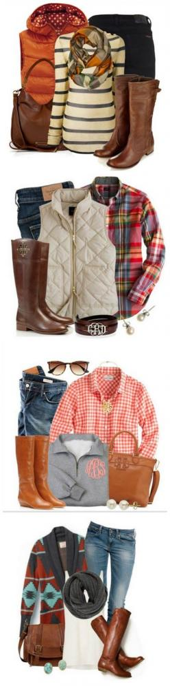 Cozy Fall Fashion-- I love all these Fall Outfits! Brown boots Aztec sweater Puffy vest: Falloutfit, Fall Style, Winter Style, Winter Outfit, Fall Clothe, Fall Fashion, Fall Outfit, Aztec Sweater