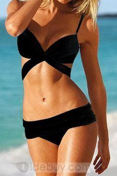 Criss Cross Bathing Suit; need to find a bathing suit like this!