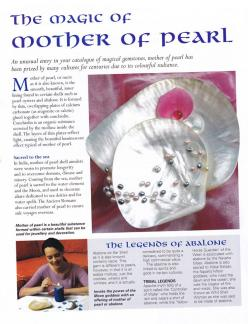 Crystals & Stones:  The Magic of #Mother of #Pearl.: Metaphysical, Crystals Stones, October Birthstone, Stones Metals Fossils, Mother Of Pearls, Healing Stones, Rocks Stones