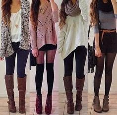 Cute winter outfits!