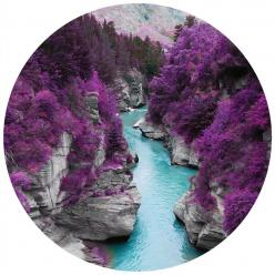 Fairy pools of Scotland...not quite what it seems. But now featured as an adhesive print! Travel me here now please. $28: Bucket List, Fairy Pools, Fairies, Purple, Skye Scotland, Beautiful Place, Travel, Places, Isle Of Skye