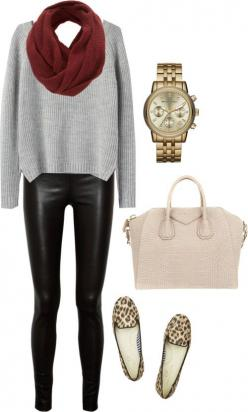 Have a pair (leather leggings)..luv them! Need the leopard loafers next! Get them here...: Leather Leggings Outfits, Leather Leggings Luv, Style, Leather Leggings Outfit Winter, Leopard Loafers, Fall Winter, Casual Leather Leggings Outfit, Leather Pants O