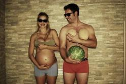 Hilarious comparisons  #baby #fruit: Pregnancy Photos, Photo Ideas, Future, Funny, Funnies, Baby, Photography, Maternity Photo