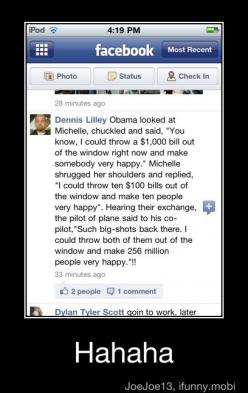 Hilarious!: Random Funny, Funny Laughs, Truth, Obama Humor, Funny Jokes, Funnies, So Funny, Guys Deserves, Funny Cool