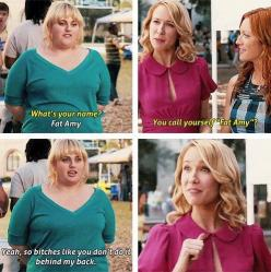 i heart Rebel Wilson: Pitch Perfect, Quote, Movies, Funny Stuff, Funnies, Pitchperfect, Fat Amy, Fatamy