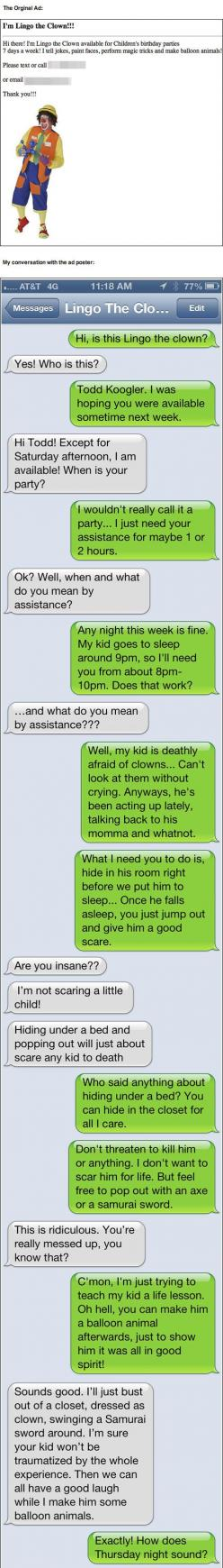 I just died: Funny Texts, Giggle, Hate Clowns, Funny Stuff, Funnies, So Funny