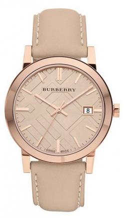 love, love, love! http://rstyle.me/n/dmsrtn2bn: Stamped Round, Style, Check Stamped, Burberry Watch, Rose Gold Watch, Round Dial, Watches, Women'S Watch
