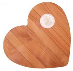 "Out of the Woods of Oregon Heart 11-by-11-"" Cutting Board: Cutting Boards, Oregon Heart, Heart 11X11, Heart Cutting, Valentines Day, Heart 11 By 11, Chief"