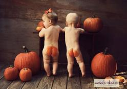 Precious! Pumpkin butts!: Holiday, Picture, Photo Ideas, Pumpkin Butts, Punkin Butt, Pumpkins, Kids, Halloween, Baby Butts