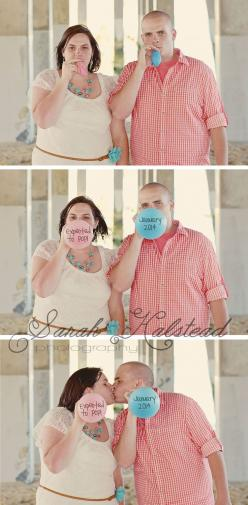 Pregnancy Announcement Photo Ideas. I like this one, especially for a gender reveal party.: Pregnancy Announcements, Photo Ideas, Announcement Photograph, Baby Girl, Pregnancy Announcement Photos, Photography Ideas, Kid, Pregnancy Announcement Ideas