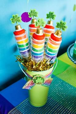 Push pop idea for Rainbow or St Patrick's Day Party via Kara's Party Ideas karaspartyideas.com: Push Pop, Party'S, Rainbow Cake, St. Patrick'S Day, Party Idea, Cake Pop, St Patty, St Patricks