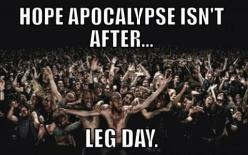 "Seriously did one day of ""boot camp"" exercises including squats and focus on legs(including two and a half mike run) per my room mate and I's great idea.... I now understand the ""leg day"" humor.: Undead, Wallpaper, Movie, Theme Parks,"