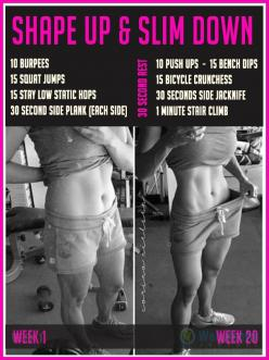 Shape up & slim down at home : #fitness #exercise #tips #diet #slim #abs #belly #weightloss #workout: Diet Fitness, Belly Weightloss, Workouts Fitspo, Fitness Health, Fitness Exercise, Body Weights, Ab Workouts, Full Body Workout, Abs Belly