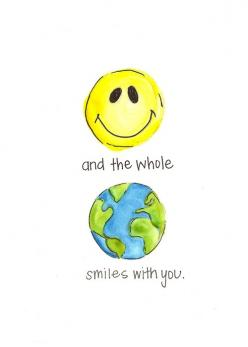 Smile.........   Nicole Miyuki Santo  - Designer: Verses Quotes And Pick Me Ups, Quotes Wordart Typography, Positive Quotes, Quotes Just, Quotes Posters, Eclectic Quotes, Smile, Favorite, Quotes Word Art