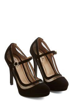 Soiree It Again Heel in Black
