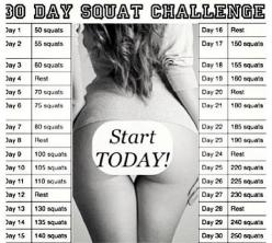squat challenge: Booty Hurts, 30 Days, 1St, Stops Hurting, Challenge Accepted, Booty Workout, Butt Workout