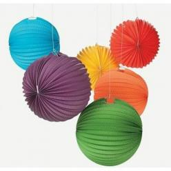 Super INEXPENSIVE Solid Color Rainbow Paper Lanterns | 6ct From Kara's Party Shop! Tons more colors available, too! KarasPartyIdeas.com/Shop: Solid Colors, Paper Lanterns, 1St Birthday, Colorful Decorations, Balloons, Color Balloon, Party Ideas, Birth