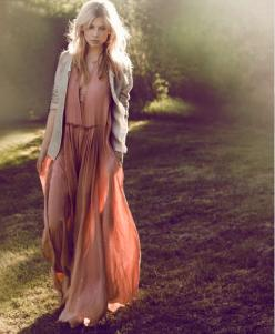 The Boho Garden: Flowy Dress, Clemence Poesy, Maxi Dresses, Fashion, Inspiration, Style, Clemence Poesy, Outfit