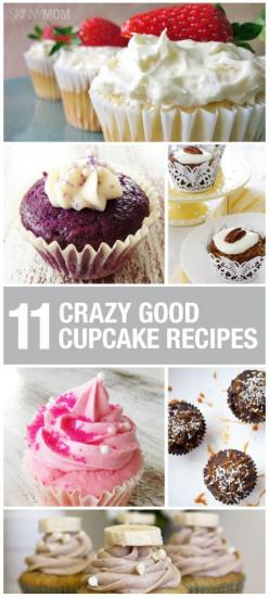 These yummy, delicious treats will make your mouth water!  You have to try these cupcake recipes!: Cupcakes Muffins, Idea, Cupcake Recipes, Delicious Treats, Cupcakes Recipe, Sweet Tooth, Healthy Cupcake, Skinny Cupcake