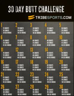 This will be my next 30 day challenge! Right after I finish my guns, buns, and ab challenge :): 30 Day Challenge, 30Day, Butt Challenge, Workouts, Exercise, Work Out, Health, Butt Workout, Fitness Challenges
