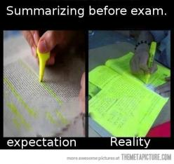When pretty much everything seems to be important... #college #life #studying @Lindsey Grande Grande Grande Grande Weintraub: Nursing School, Truth, College, Funny Stuff, So True, Humor