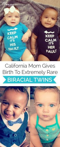 Wow! California mom gives birth to extremely rare biracial twins!: Boy Girl Twins, Twins Babies Boy And Girl, Baby Twins Boy And Girl, Girl And Boy Twins, Mixed Baby Boy, California Mom, Mixed Baby Girl, Boy And Girl Twins, Biracial Twins