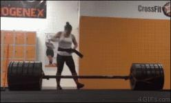 11 Things That Are Completely Normal At CrossFit But Entirely Inappropriate Everywhere Else: Nailed It, Gif S, Record Deadlift, Funny Gifs, Funnies, So Funny, Crossfit Funny, Crossfit Humor Funny