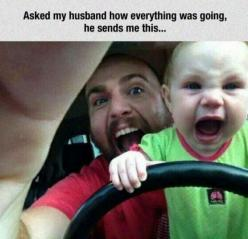 18 Serious Contenders For The 'Dad Of The Year' Award. Part 1 | Funny All The Time: Funny Dad, Giggle, My Husband, Funny Picture, Funny Stuff, Humor, Baby, Dads