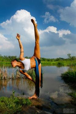 """Yoga is the study of balance, and balance is the aim of all living creatures: it is our home.""  ~ Rolf Gates: Fitness, Beautiful, Namaste, Yoga Inspiration, Yogainspiration, Half Moon, Dance"