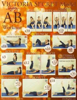 Ab workouts YESSSSSS!!!: Abs, Fitness, Victoria Secret, Exercise, Ab Workouts, Work Out, Abworkout