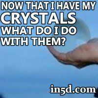 Below is a list of possible ways you could go about choosing a crystal. Remember, just because a crystal is beautiful, and the nicest one of a bunch, doesn't mean that it is the best crystal for you. It is more important to be receptive and allow your