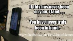 But it's a tuner... << Haha, my director uses his phone for a tuner, accept as he was saying the other day, apparently they got rid of the good tuning app...: High School, Marching Band, Band Nerd, Band Life, Band Geeks, Music Band