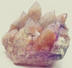 Cactus or spirit quartz, help align the crown chakra and attune one to the astral plane and universal consciousness ✨: Spirit Quartz, Crystal, Quartz Crystal, Mineral, Crystals And Gemstones, Spiritquartz, Crown Chakra Crystals, Cactus Crystal