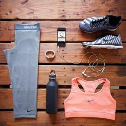 cute workout outfit: Fitness Fashion, Workout Gear, Workout Outfits, Work Out, Health, Workout Clothes, Nike